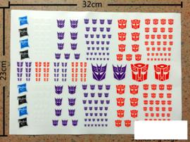 Logo Sticker Sheet