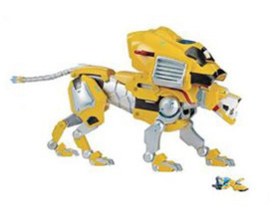 Playmates Voltron Intelli-Tronic Yellow Lion