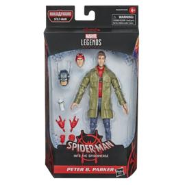 Marvel Legends Spider-Man into the Spiderverse Peter B. Parker (Stiltman wave)