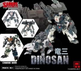 Fansproject Saurus Ryu-Oh Dinosan
