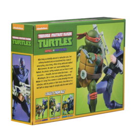 NECA TMNT Action Figure 2-Pack Raphael vs Foot Soldier