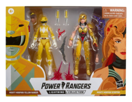 Power Rangers LC AF MM Yellow Ranger vs. MM Scorpina - Pre order