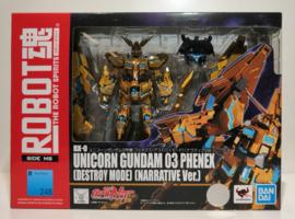 Bandai ROBOT Damashii Unicorn Gundam 3