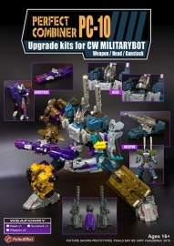 Perfect Effect PC-10 Upgrade set Bruticus