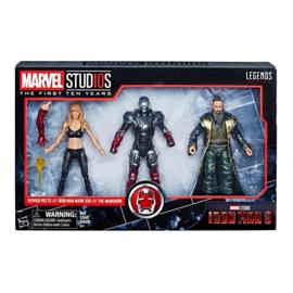 Marvel Legends [Iron Man 3] 3-Pack Pepper, Mark XXII & Mandarin