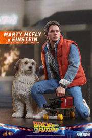 Hot Toys Back To The Future MMAF 1/6 Marty McFly & Einstein Exclusive - Pre order