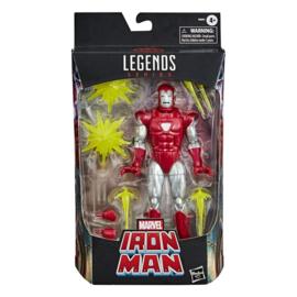 Marvel Legends Series AF 2020 Iron Man Silver Centurion