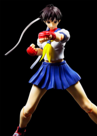 Street Fighter S.H. Figuarts Action Figure Sakura Kasugano