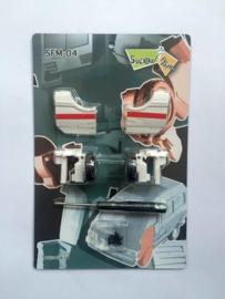 Shadow Fisher SFM-04 Upgrade Kit Takara MP-30 Rachet