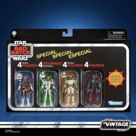 Star Wars Vintage The Bad Batch [set of 4] - Pre order