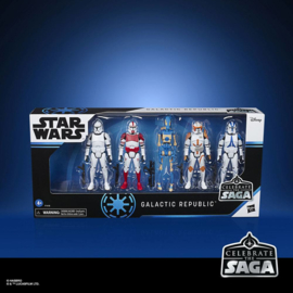 Star Wars Celebrate the Saga Action Figures 5-Pack Galactic Republic