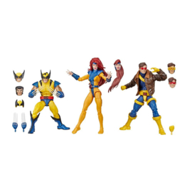 Marvel Legends 80th Ann. 3-Pack X-Men Wolverine, Jean Grey & Cyclops - Pre order