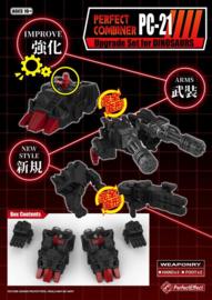 Perfect Effect PC-21 Upgrade POTP Dinobots
