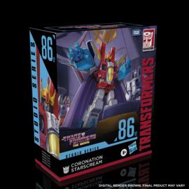 Hasbro Studio Series 86-12 Leader Starscream - Pre order