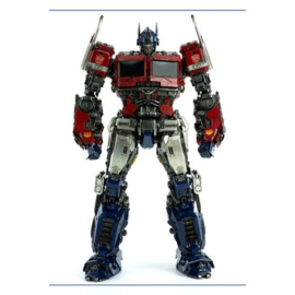 ThreeZero Bumblebee DLX Scale Action Figure Optimus Prime