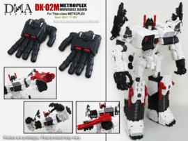 DNA DESIGN DK-02M Movable Hand Kits for Metroplex