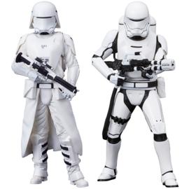Star Wars ARTFX+ PVC Statue 1/10 2-Pack Snowtrooper & Flametrooper