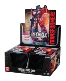 Transformers TCG Booster Box War for Cybertron Siege [english]