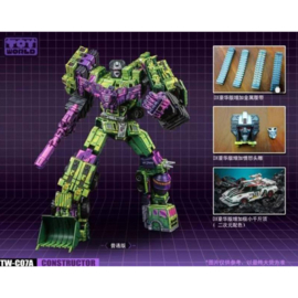 Toyworld TW-C07A Constructor [Deluxe version] - Pre order