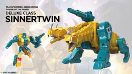 Hasbro PotP Deluxe Sinnertwin