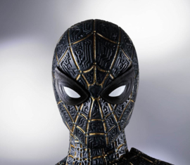 S.H. Figuarts AF Spider-Man: (No Way Home) Black & Gold Suit - Pre order