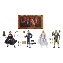 Marvel Legends Series AF 4-Pack 2020 The Hellfire Club Exclusive