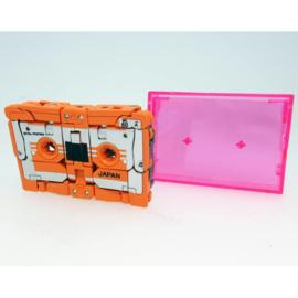 Takara Masterpiece MP-15/16-E Cassettebot Vs Cassettetron Set Exclusive