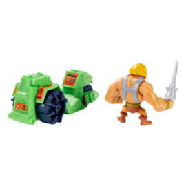 Masters of the Universe Eternia Minis Vehicles He-Man & Ground Ripper