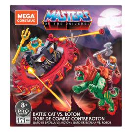 Mega Construx MOTU Probuilders Battle Cat vs. Roton