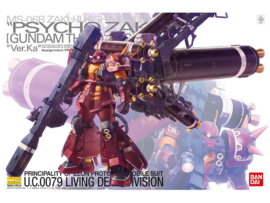 1/100 MG High Mobility Type Psycho Zaku Ver.Ka