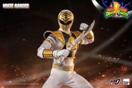 Mighty Morphin Power Rangers FigZero AF 1/6 White Ranger - Pre order