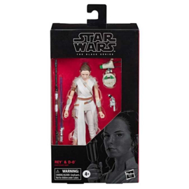 Black Series AF Rey and D-O