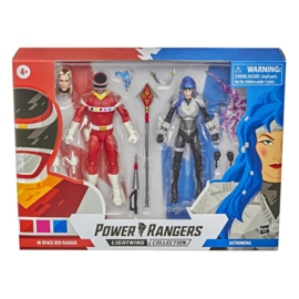Power Rangers LC AF In Space Red Ranger and Astronema