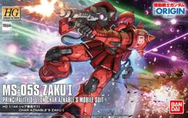 1/144 HGGTO MS-05S Char Aznable's Zaku I