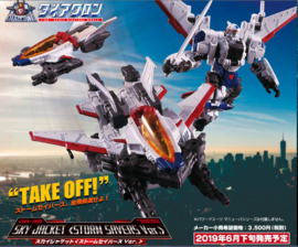 Takara Diaclone DA-35 Sky Jacket [Storm Savers Version]