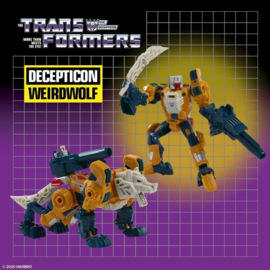 Hasbro Retro Headmasters Deluxe Weirdwolf