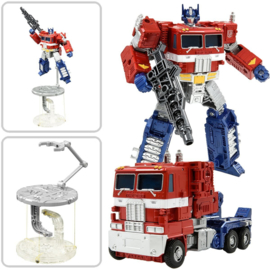 Transformers Tenseg Base Display Stand with Optimus Prime - Pre order