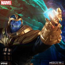 Mezco Marvel Universe Light-Up AF 1/12 Thanos - Pre order