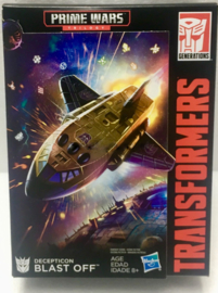Exclusive Transformers Power of the Prime Deluxe Blast Off