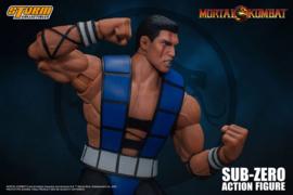 Mortal Kombat Action Figure 1/12 Sub-Zero (Unmasked)