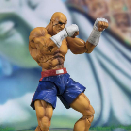 Street Fighter S.H. Figuarts Action Figure Sagat Tamashii Web Exclusive - Pre order