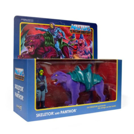 Masters of the Universe ReAction AF 2-Pack Skeletor & Panthor - Pre order