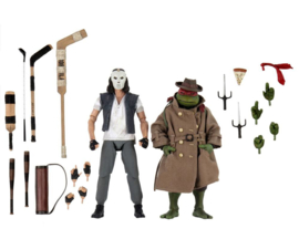 Neca Teenage Mutant Ninja Turtles 2-Pack Casey Jones & Raphael in Disguise - Pre order