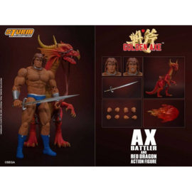 Golden Axe Action Figure 1/12 Ax Battler & Red Dragon