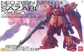 1/100 MG MSN-04 Sazabi Ver.Ka