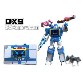 DX9 War in Pocket X-33 Sonic Wizard