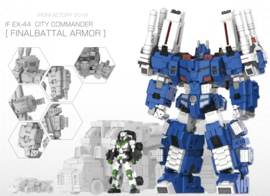 Iron Factory IF EX-44 City Commander - Pre order
