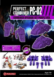 Perfect Effect PC-02 Upgrade set Menasor
