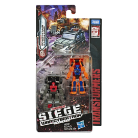 Hasbro WFC Siege Micromasters Highjump & Powertrain