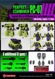 Perfect Effect PC-07 Upgrade set CW Devastator